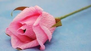 Как сделать розы из бумаги? Хэнд-мэйд. GuberniaTV