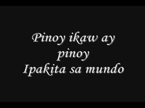 Pinoy Ako By: Orange&Lemons (w/ lyrics)