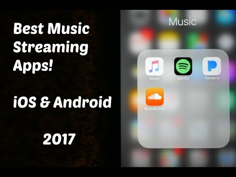 Best Music Streaming Apps! iOS/Android 2017