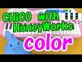 1本指ピアノ【color】CHiCO with HoneyWorks ハニーワークス 簡単ドレミ楽譜 超初心者向け