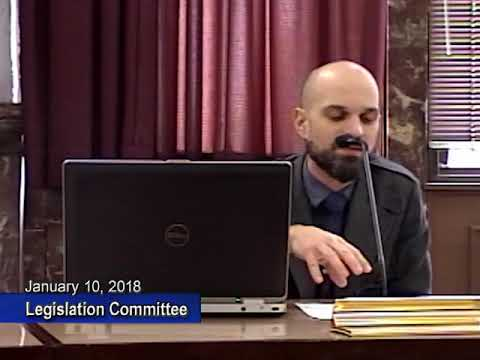 Legislation Committee - January 10, 2018