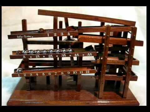 Time Machine Clock Rolling Ball Kugeluhr Doovi