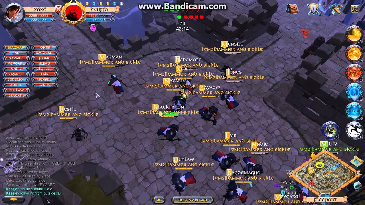 Albion Online Gvg 20 Vs 20 Pvp Battle For City Albion Onlajn