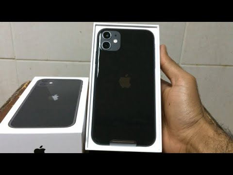 New Apple iPhone 11 (128GB)  Black  Unboxing