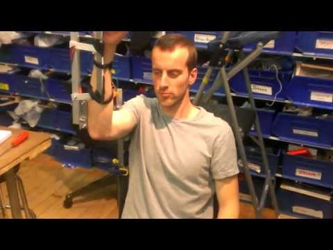 Testing Assistive Arm Exoskeleton