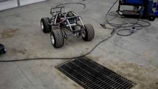 Home Made Huge Rc Car #14, Motor Moves It! Large Scale 1955 Chevy