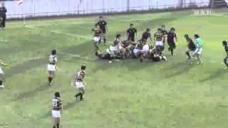 全国大学ラグビーフットボール選手権大会 天理大学ラグビー部 二回戦