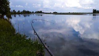 Рыбалка в грозу Ловля на спиннинг с берега 2020