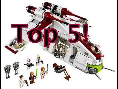 Top 5 LEGO Star Wars Sets! by JoshS25Reviews
