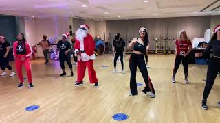 JINGLE BELLS CHRISTMAS AFRO DANCE REMIX 2020 | AFROFIT DUBAI