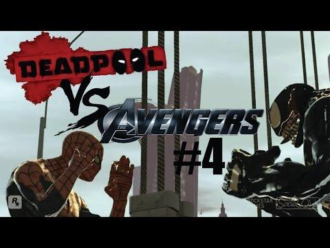 GTA IV:Deadpool vs Avengers #4