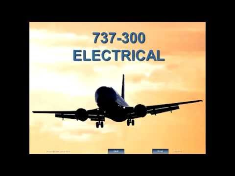 ELECTRICAL SYSTEM BOEING 737-300