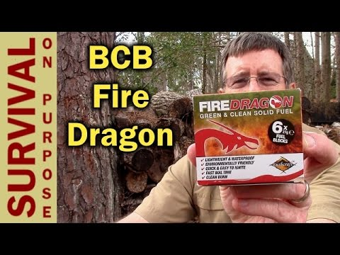 BCB Fire Dragon Non-Toxic Solid Fuel and Folding Stove Review