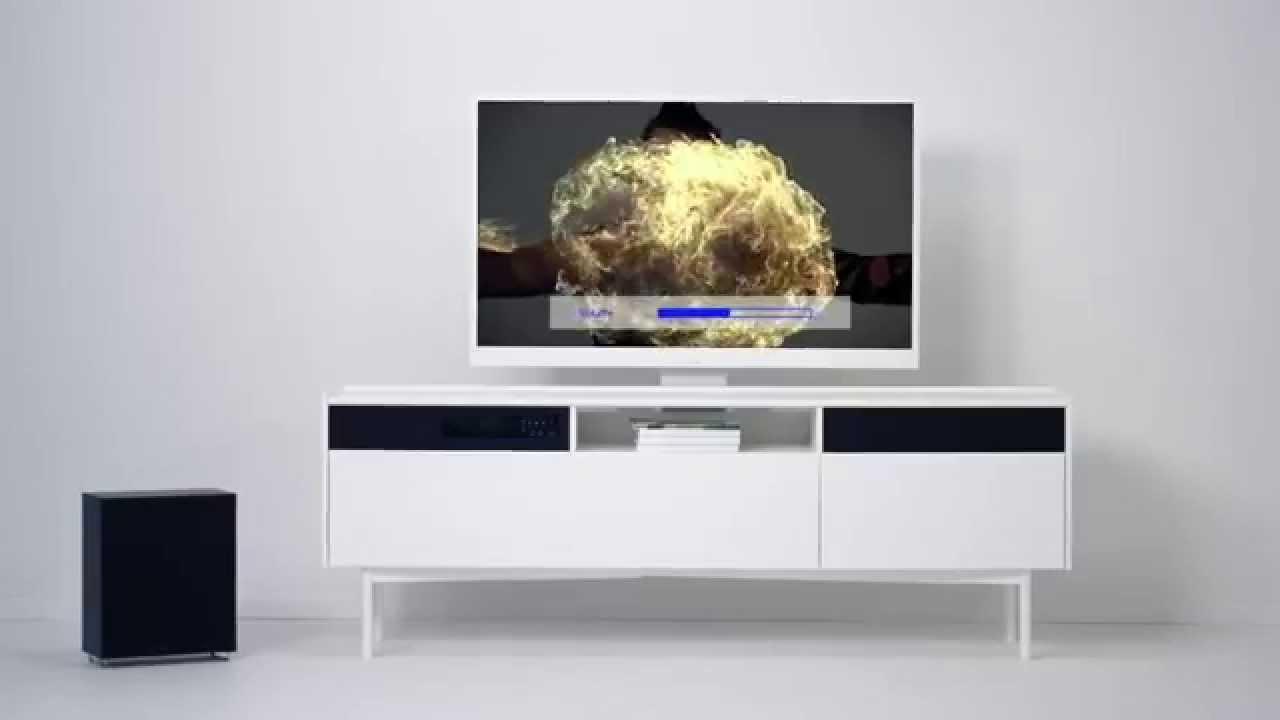 Ikea Uppleva Televisie : Uppleva tv lydsystem og møbel i ett youtube