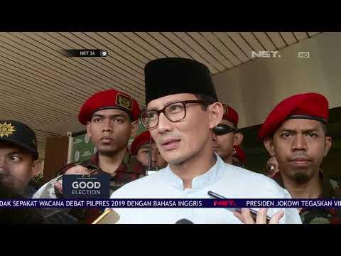 Ini Alasan Sandiaga Uno Tolak Wacana Debat Capres & Cawapres Gunakan Bahasa Inggris-NET24