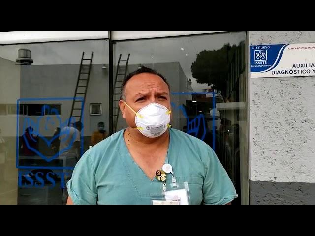 ISSSTE Veracruz vacuna contra COVID-19 a su primer médico y enfermera