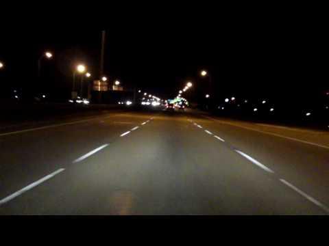Interstate 610 - Louisiana eastbound (Night)