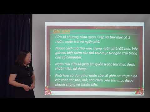Hướng dẫn Thực hành Tin học Lớp 5 - KHÁM PHÁ MÁY VI TÍNH - Bài 1 Khám phá Computer