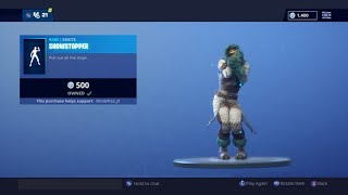 Fortnite (NEW ) Showstopper Emote with all skins !
