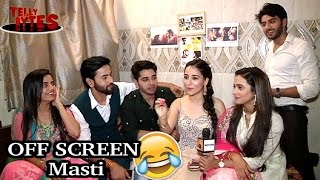Download Video OFF SCREEN Masti with Jaana Na Dil Se Door Cast! MP3 3GP MP4