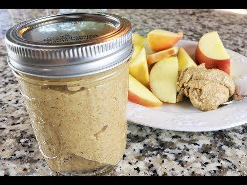 Mantequilla de Almendras - Receta Facil y Saludable