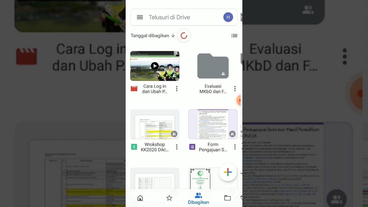 Cara Upload File di Google Drive menggunakan HP Android ...