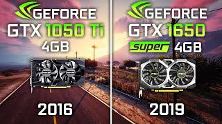 GTX 1050 Ti vs GTX 1650 Super Test in 10 Games