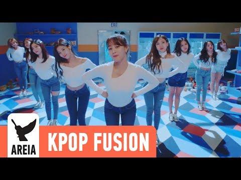 TWICE - Heart Shaker | Areia Kpop Fusion #25 REMIX