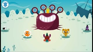 Kids Learning Letters Sound With Funny Monster - Phonics and Reading - Letter Sounds App Part-4
