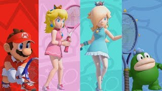 Mario Tennis Aces Demo - All Characters