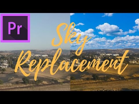 Easy Sky Replacement Adobe Premiere Pro Tutorial thumbnail