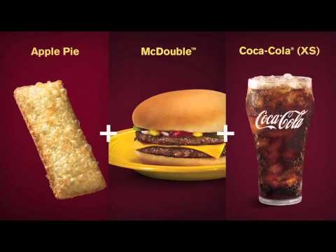 McDonald's Singapore Everyday Savers Menu - Mix and Match