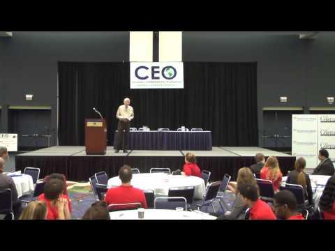 Jack Deboer Entrepreneur, Keynote Address at CEO National Conference 2012
