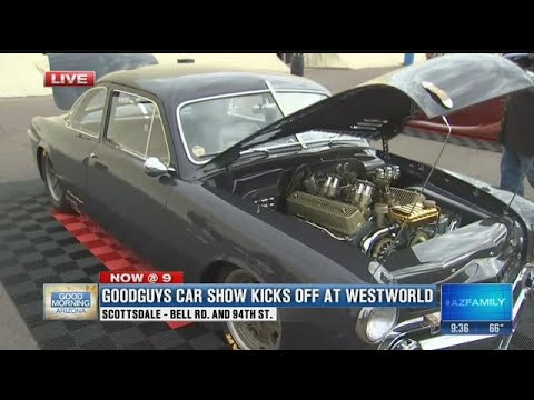 Goodguys Car Show Begins Today At WestWorld Part YouTube - Where is the car show today
