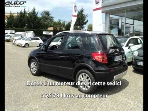 fiat sedici occasion visible villenave d 39 ornon pr sent e par bordeaux sud automobiles youtube. Black Bedroom Furniture Sets. Home Design Ideas