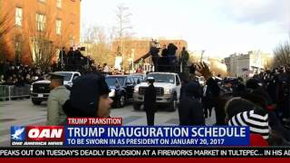 Trump Inauguration Schedule
