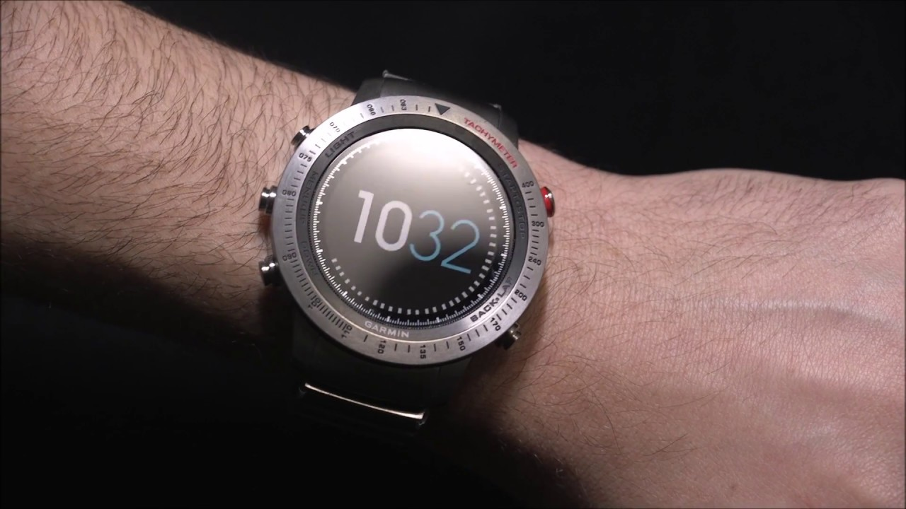 Vellidte Garmin Fenix Chronos GPS Smartwatch Review   aBlogtoWatch - YouTube RE-77