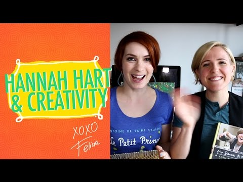 Hannah Hart on Creativity!