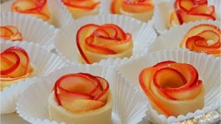 How to Make Apple Rose Tart / Valentine's rose