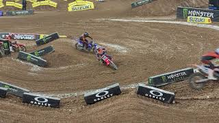 Supercross 2021 rd3 Houston 450 main!! No way!!