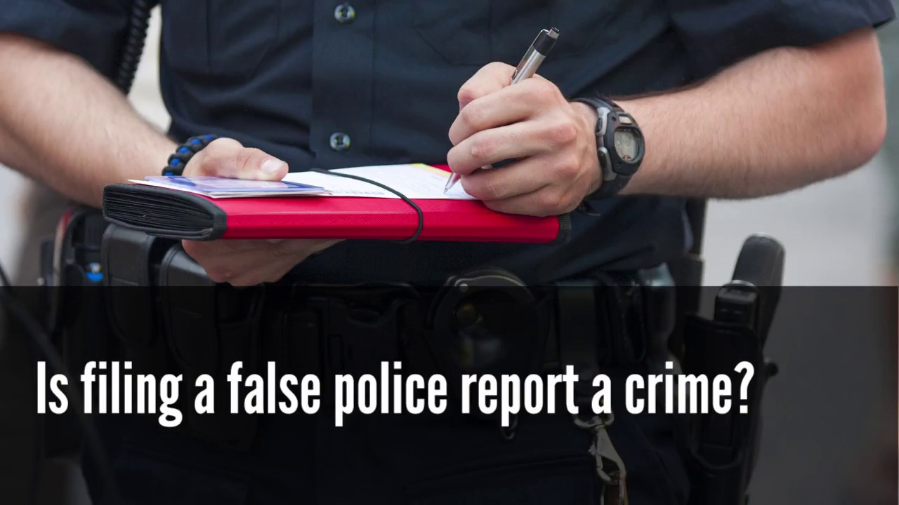 Filing a False Police Report: Penalties and Consequences