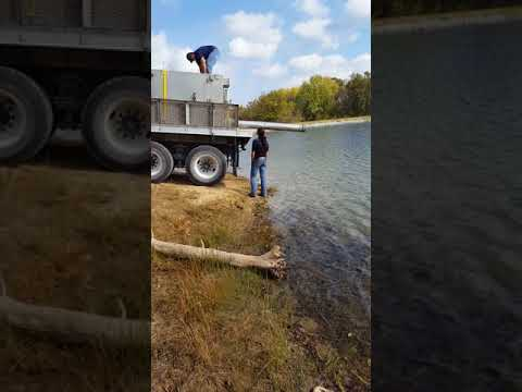 Busch Wildlife Trout Stocking 2017 Lake 28