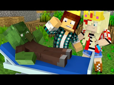 Minecraft : VIRAMOS MÉDICOS !!- Minecraft Reino #11