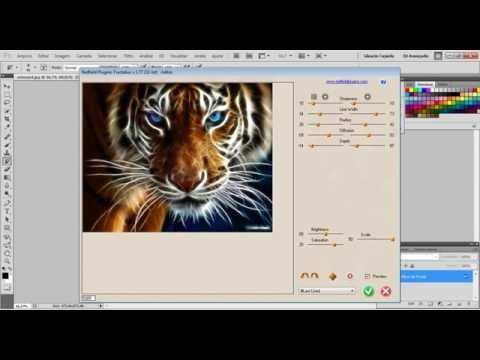 Como instalar e usar o plugin de photoshop FRACTALIUS