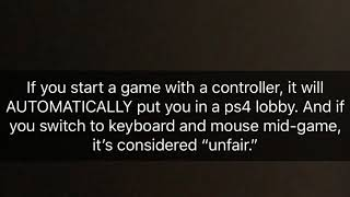 Fortnite- Input Blocked Problem For Keyboard And Mouse On PS4? This Will Help. -Fortnite Montage