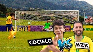 DESAFIO COM COCIELO (Campeonato YouTubers de pênaltis) - {BZK}