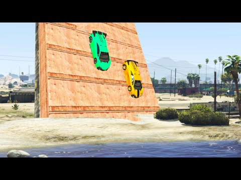 UNDERMAP GLITCH RACE! (GTA 5 Funny Moments)
