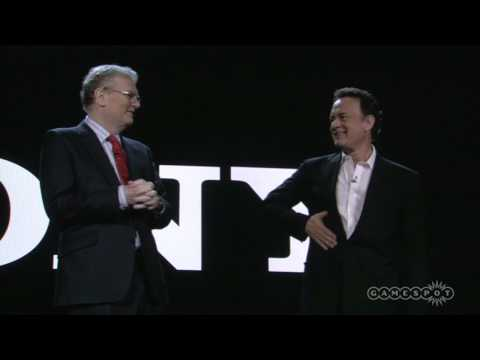 I have never loved Tom Hanks more than watching him butcher this 2009 CES keynote intro