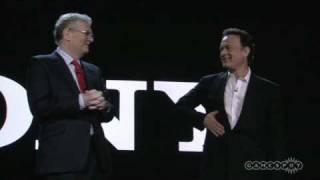 While not entirely video-game-related, this was the most entertaining portion of Sony's CES 2009 keynote address. More at http://ces.gamespot.com.