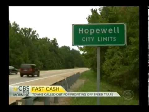Million Dollar Speed Trap in Hopewell, Va and other places